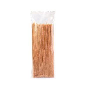 Image of dry pasta communicates few ideas, bland experience